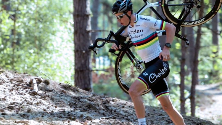 Wout van Aert readies for his UCI Cyclocross World Championship defense, as documented in this SRAM Open the Road video.