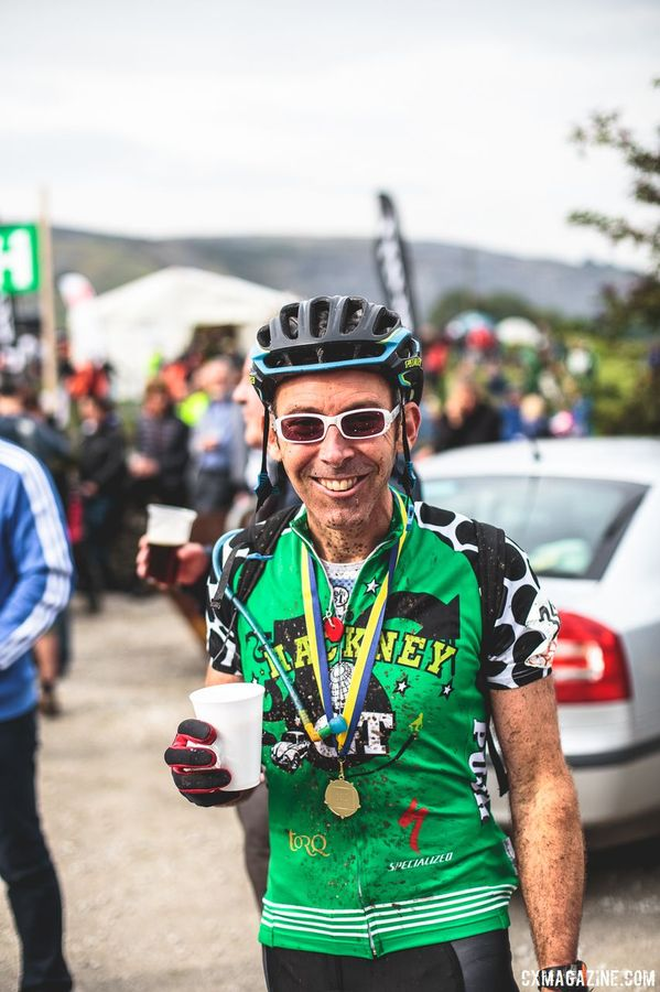 Since the 3 Peaks is a cyclocross race, there is plenty of beer waiting at the finish line. 2017 Three Peaks Cyclocross. © D. Monaghan / Cyclocross Magazine