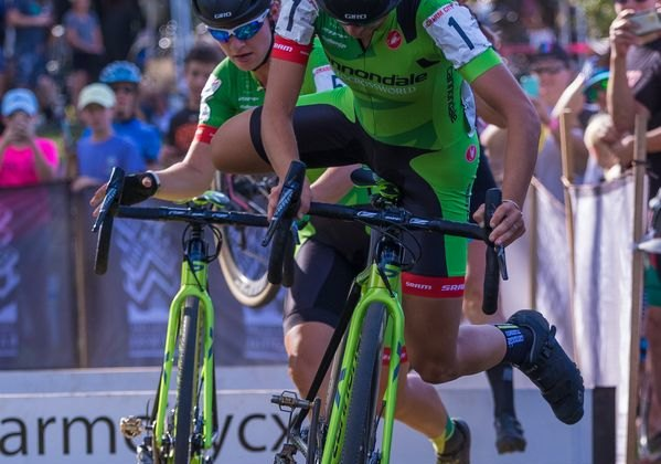 Cannondale would dominate the women's race. 2017 Charm City Cross Day 1