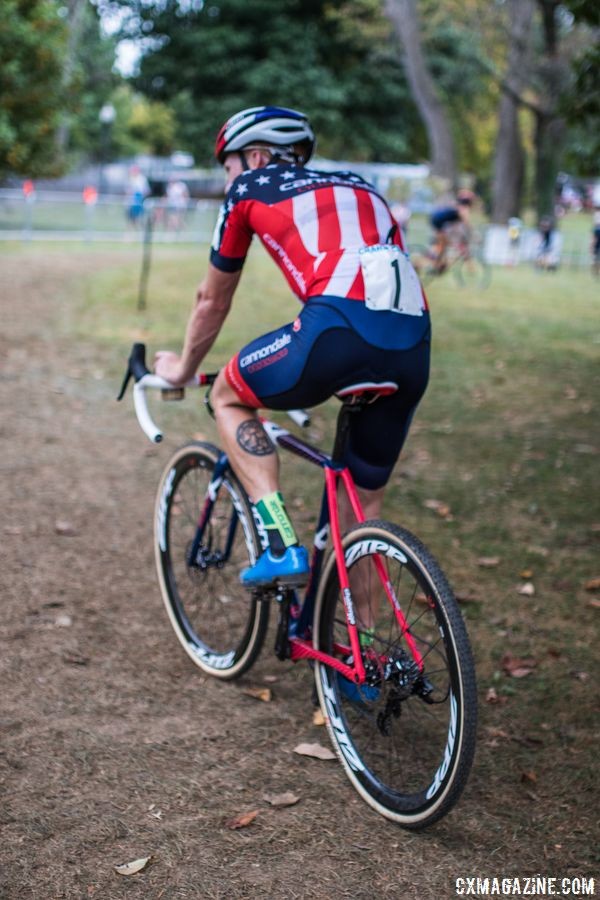 Stephen Hyde. 2017 Charm City Cross Day 2. © M. Colton / Cyclocross Magazine