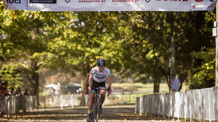 Carla Williams took the win on Day 2 of DCCX Sunday. 2017 DCCX Day 2. © Bruce Buckley Photo