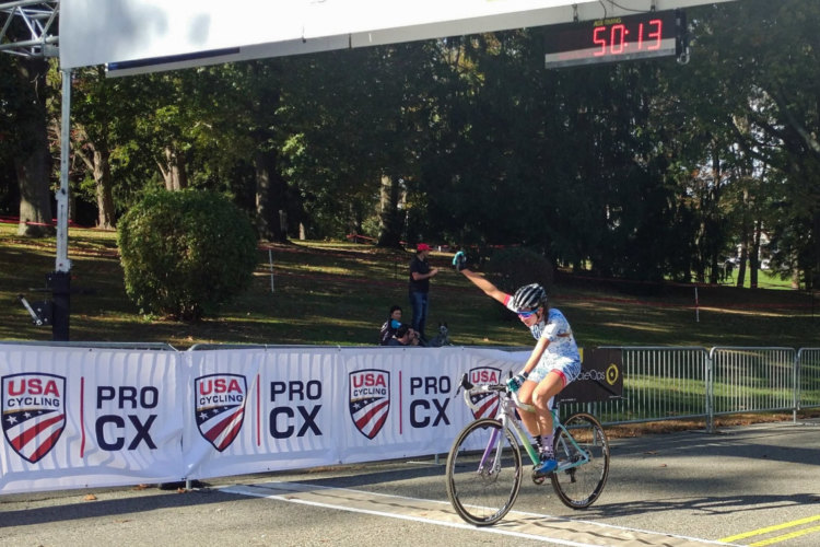 Samantha Runnels took the win on Day 1 of the 2017 HPCX. photo: Jesus Rivera