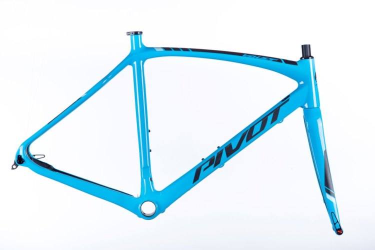 Pivot Vault frameset. photo: courtesy
