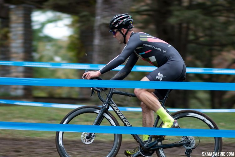 Ortenblad spend much of the race looking down, searching for answers as to his bad day. 2017 Cincinnati Cyclocross, Elite Men, Day 1. © Cyclocross Magazine