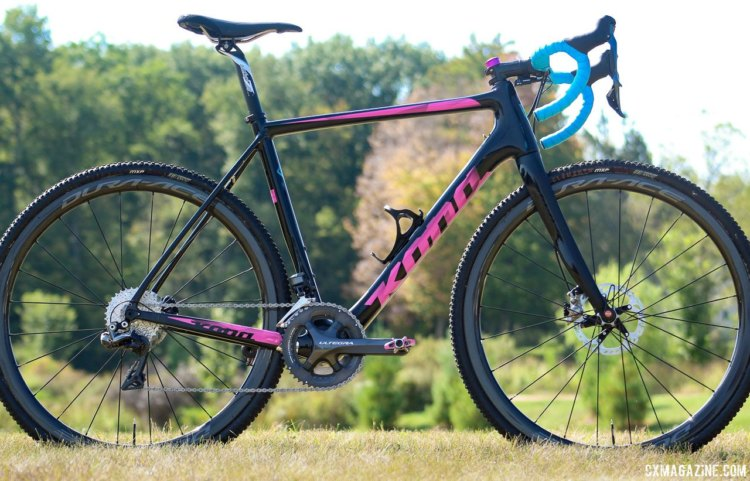 Kerry Werner's 2017 World Cup Waterloo Kona Super Jake. © Z. Schuster / Cyclocross Magazine