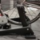 Minoura's new $599 wheel-on Kogura Smart Trainer. Interbike 2017 © Cyclocross Magazine