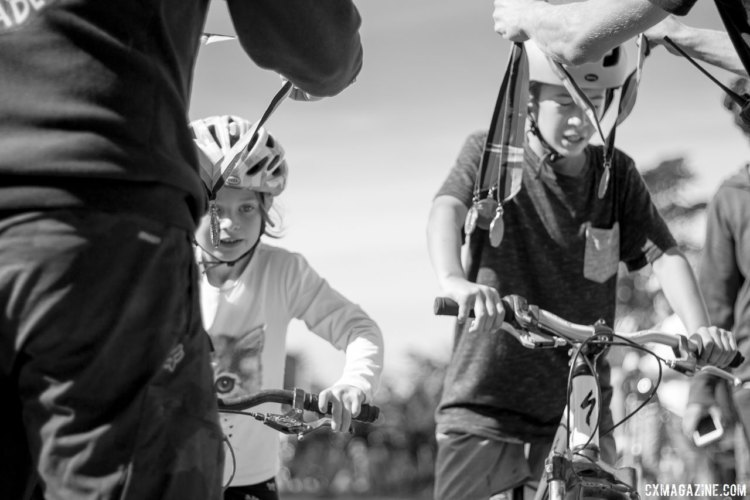 Kids' racing is always a highlight at the Rock Lobster Cup, and returns in 2017 at 11:15am. 2016 Rock Lobster Cup delivered grassroots racing, celebrity sightings and fundraising for the Rock Lobster cyclocross team. © Cyclocross Magazine