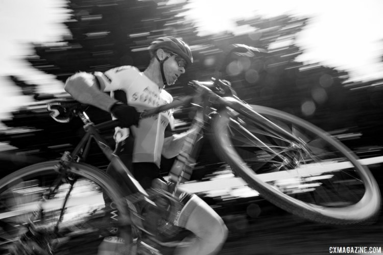 Racers took different approaches to the barriers. 2016 Rock Lobster Cup delivered grassroots racing, celebrity sightings and fundraising for the Rock Lobster cyclocross team. © Cyclocross Magazine