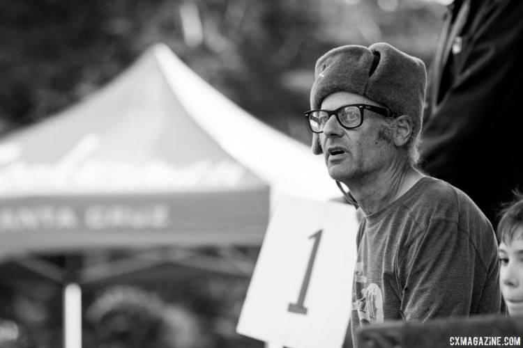 Paul Sadoff, Mr. Rock Lobster himself, doin' work and raising money for his cyclocross team. © Cyclocross Magazine