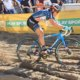 Katie Compton (KFC Racing p/b Trek/Knight Composites) rips through the thick sand. 2017 Superprestige Zonhoven. © B. Hazen / Cyclocross Magazine