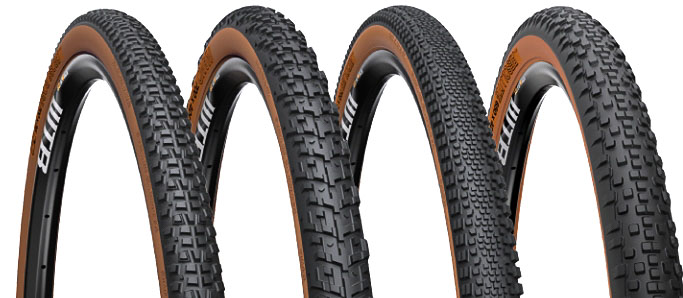 WTB cyclocross and gravel tires now all come in blackwall or skinwall.