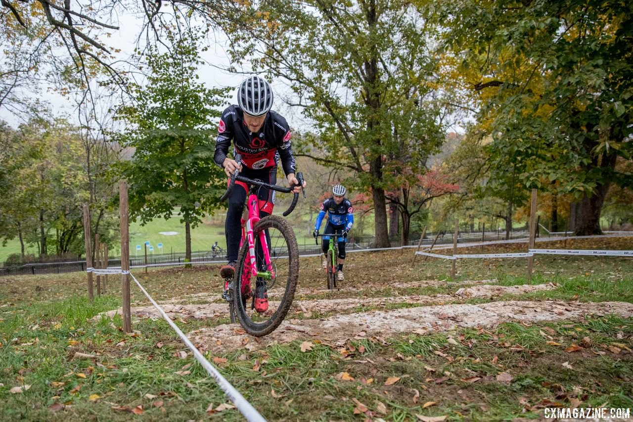 The stairs are back. 2017 Derby City Cup. © D. Perker / Cyclocross Magazine