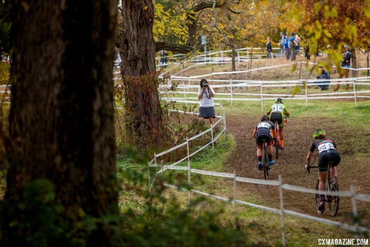 Saturday's course at Joe Creason Park was still heavy even though the sun was out. 2017 Derby City Cup. © D. Perker / Cyclocross Magazine