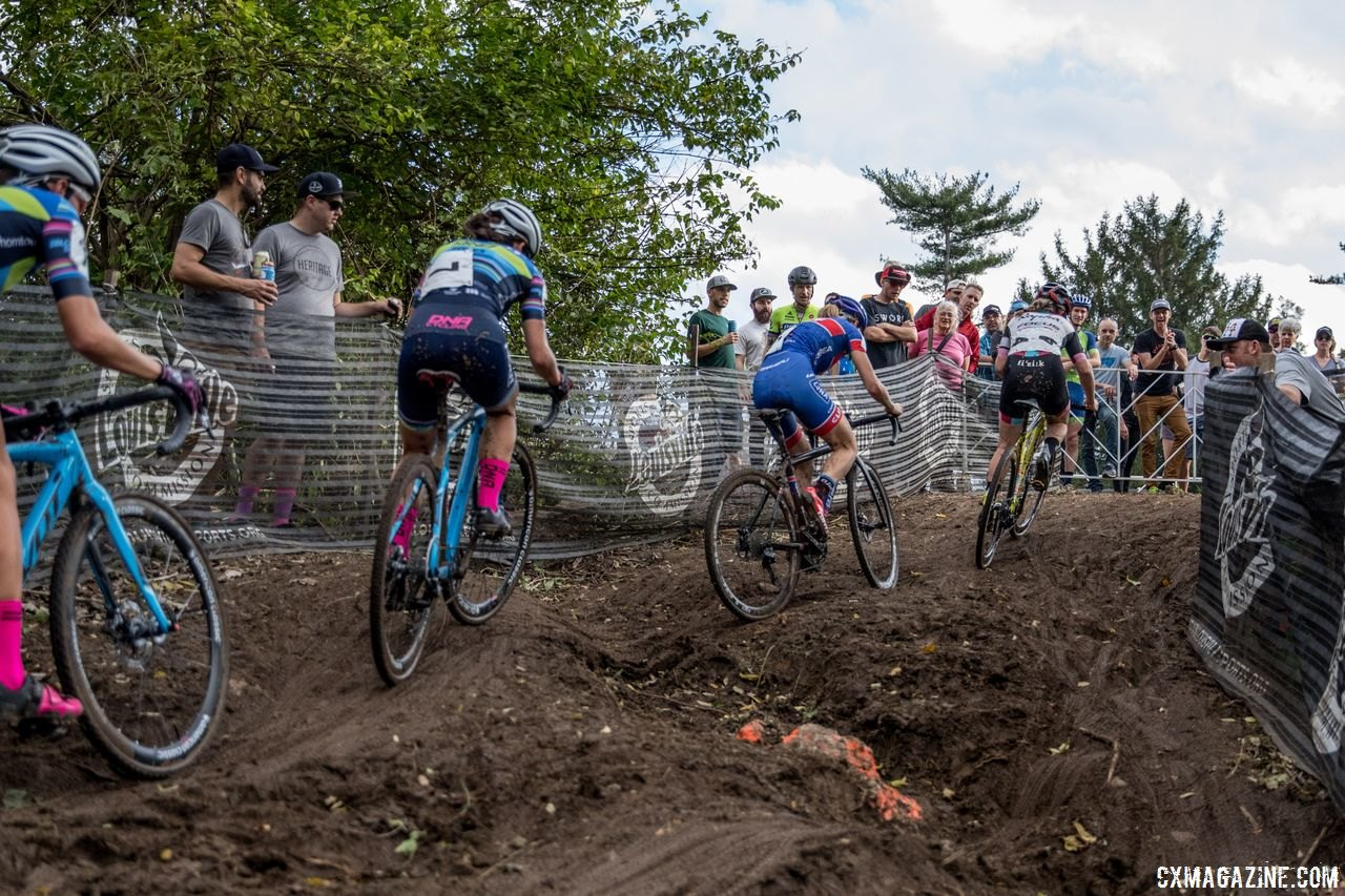 Corners and sections change every lap. Be patient and roll with the punches. 2017 Pan-American Championships. © D. Perker / Cyclocross Magazine
