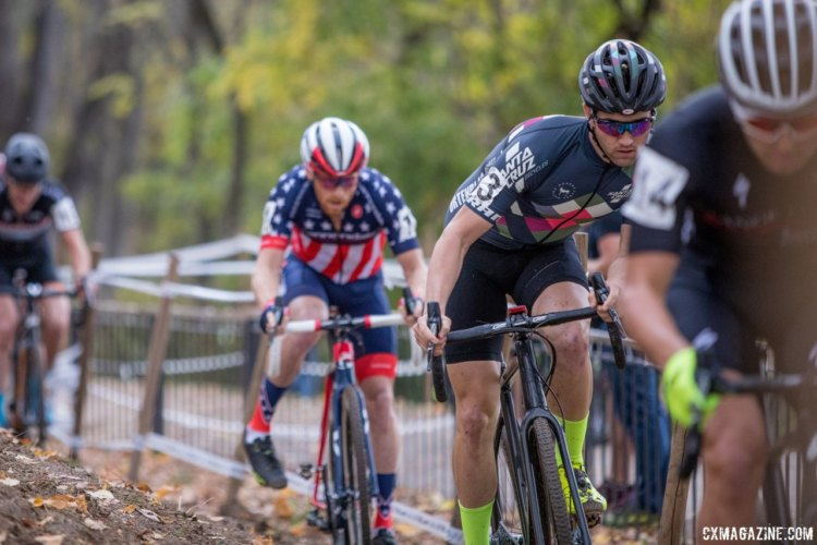 Stephen Hyde was out to prove he had the right moves at the 2017 Pan-American Championships. © D. Perker / Cyclocross Magazine