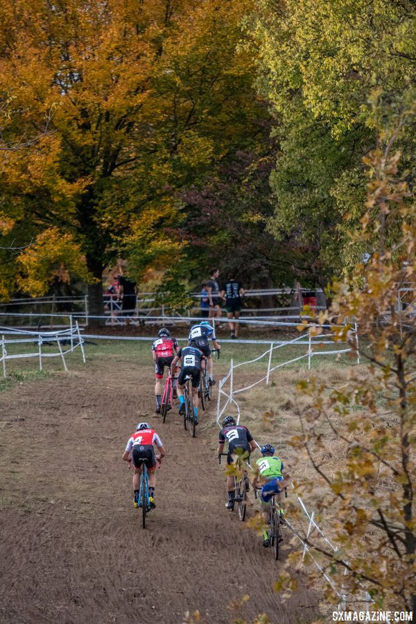 There was a lot of climbing in Derby City last year. 2017 Pan-American Championships. © D. Perker / Cyclocross Magazine