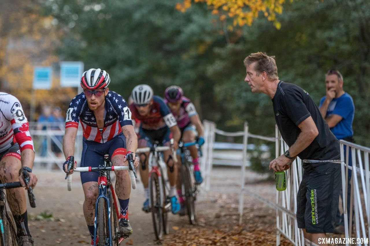 Under the guidance of Stu Thorne, the Cannondale p/b CyclocrossWorld program has been successful across the years.. 2017 Pan-American Championships. © D. Perker / Cyclocross Magazine