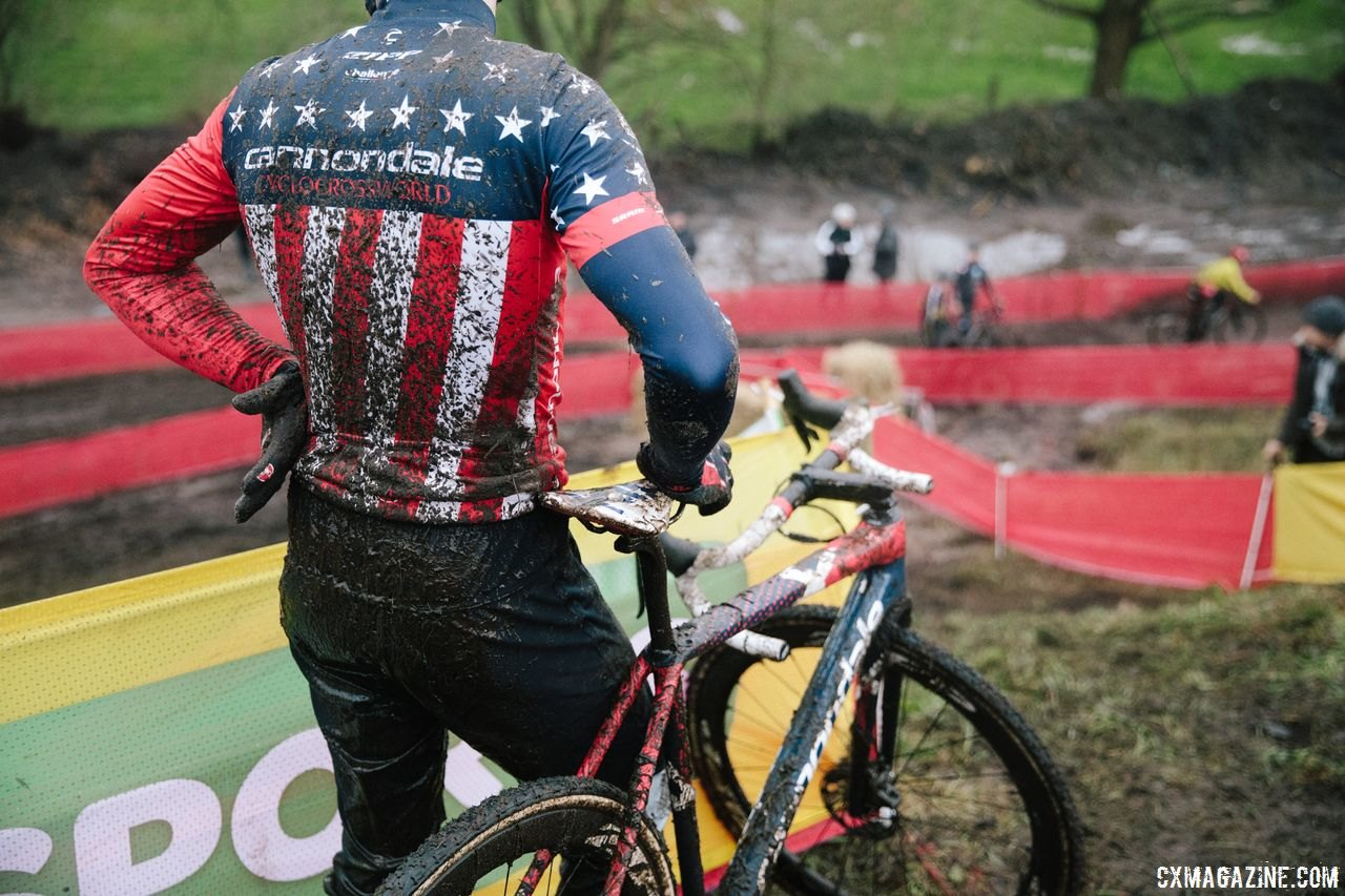 Conscious riders focus on where they can improve. 2017 World Cup Zeven Course Inspection. © J. Curtes / Cyclocross Magazine