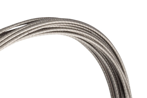 Our experts recommend using stainless steel cables. Shown here is the Jagwire polished stainless steel cable. photo: courtesy