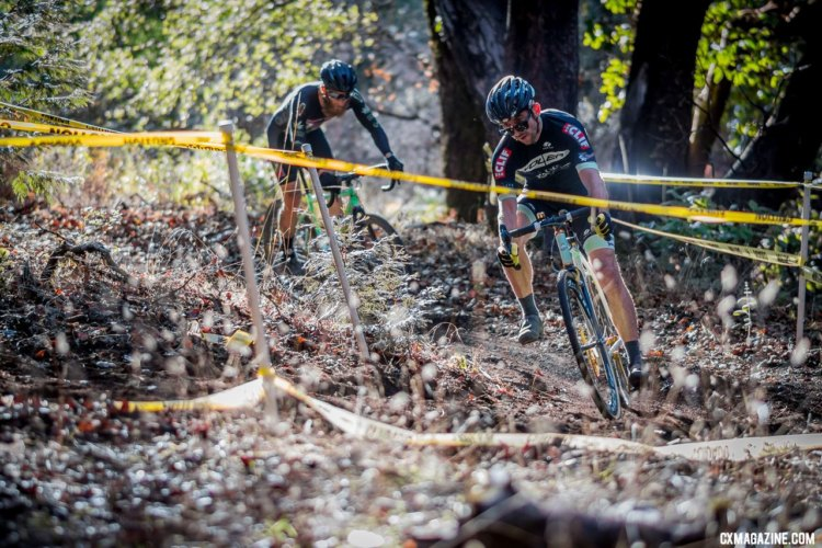 The A Men with their own time to shine. 2017 Surf City Cyclocross, Calfire Training Facility. © J. Vander Stucken