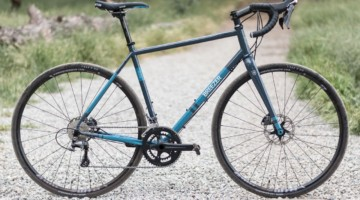 Joe Breeze's steel Breezer Inversion gravel / cyclocross bike. © C. Lee / Cyclocross Magazine
