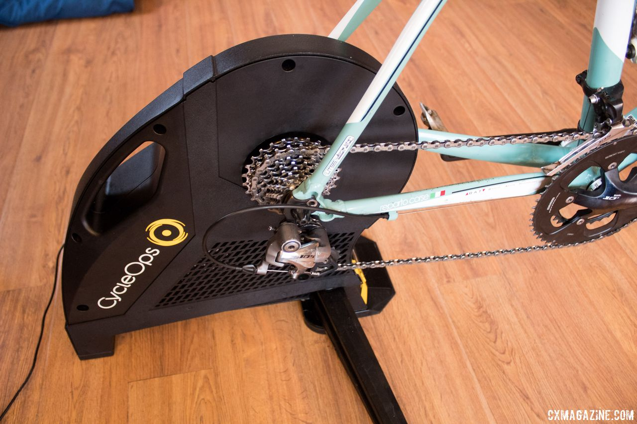 6425213102c Ridden and Reviewed: CycleOps by Saris Hammer Direct-Drive Smart Trainer