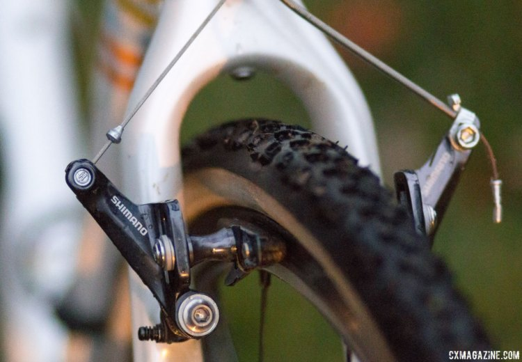 The KindHuman Kudu has integrated fender mounts. Jonathan Page's KindHuman Kudu cyclocross bike. © Cyclocross Magazine