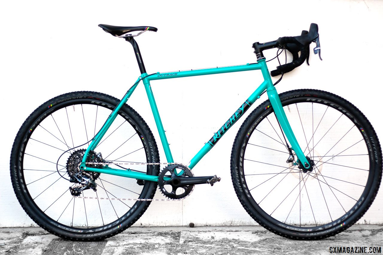 Reviewed Ritchey S Outback A Teal Steel Bike Ready For Gravel