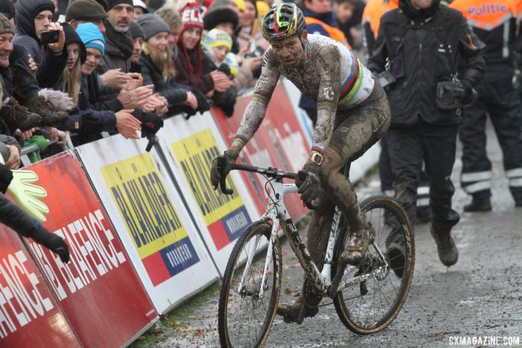 2017 Superprestige Gavere. © B. Hazen / Cyclocross Magazine
