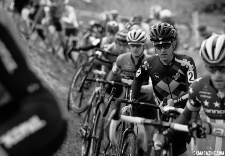 Tobin Ortenblad has had a season to remember, even if the 2017 Cincinnati Cyclocross weekend was one to forget. © Cyclocross Magazine