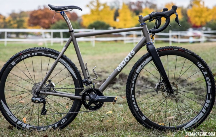 Gage Hecht's 2017 Pan-Ams Moots Psychlo X RSL. © D. Perker / Cyclocross Magazine