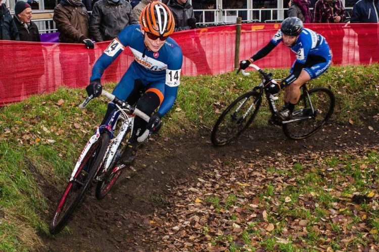 Corey Coogan Cisek is doing a cyclocross apprenticeship in Europe this fall/winter. photo: Kurt Van Hout