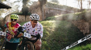 American expat Megan Chinburg took the win in her adopted Italian home country. 2017 SSCXWCITA, Verona, Italy. © F. Bartoli Avveduti / Cyclocross Magazine