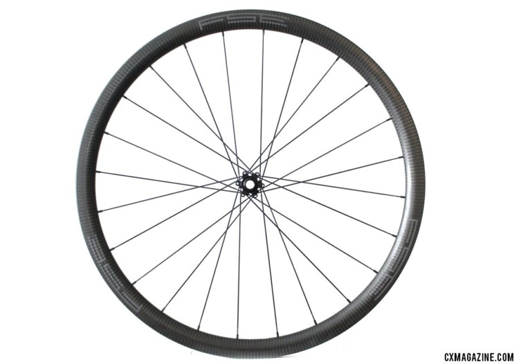 FSE (Filament Spin Evolution) EVO 35CD carbon tubeless clincher disc brake wheels. © Cyclocross Magazine