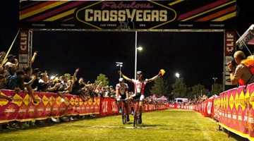 The Sweeck brothers were part of a memorable finish at 2017 CrossVegas. photo: courtesy