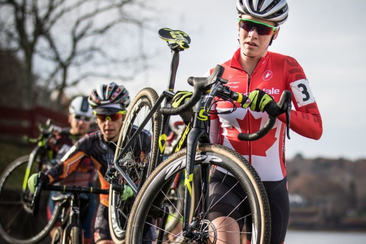 Ruby West led the way from early in the race on Saturday. 2017 NBX Gran Prix of 'Cross Day 1. photo: Angelica Dixon