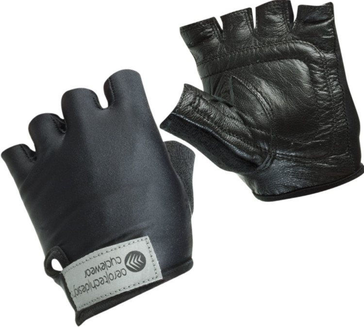 Aerotech Designs offers several kids' glove options, including this leather palm model for just $14.95. photo: courtesy
