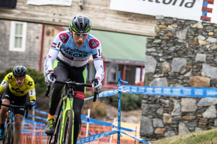 Curtis White led early and settled for third. 2017 NBX Gran Prix of 'Cross Day 2. photo: Angelica Dixon