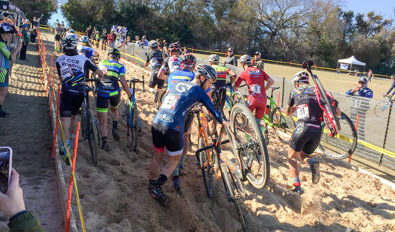 UCI Cyclocross returns to the Lone Star state this weekend. 2017 Resolution Cross Cup Day 1. photo: Heather Sawtelle / Peloton