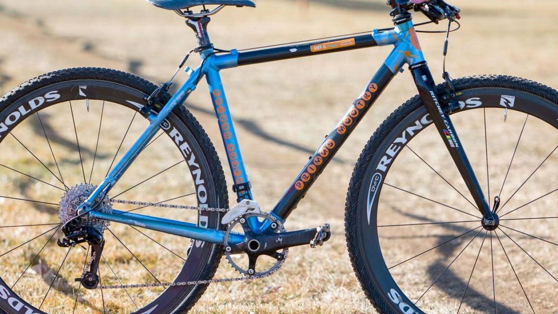 Haydn Hludzinski's / Amy Dombroski's Primus Mootry cyclocross bike. 2018 Cyclocross National Championships. © A. Yee / Cyclocross Magazine