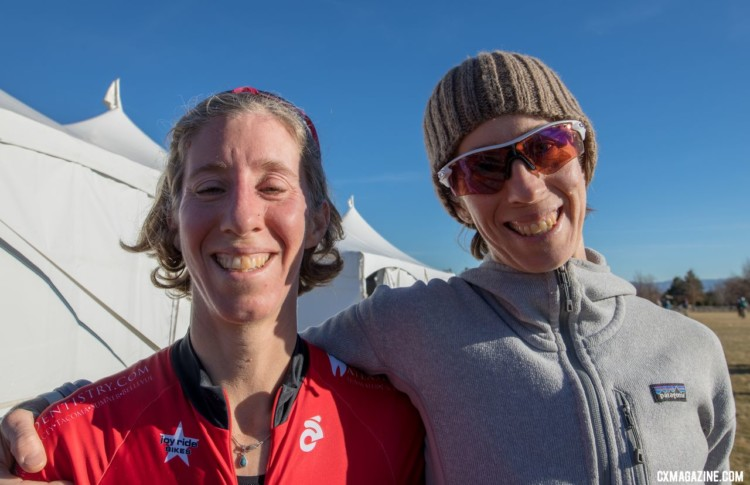 Monica Lloyd and her sister Rachel have both experienced cyclocross success. Masters 40-44. 2018 Cyclocross National Championships. © A. Yee / Cyclocross Magazine