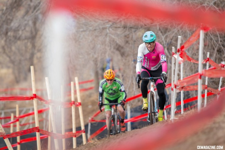 Ride for fun is the advice the Masters had. Masters 70+. 2018 Cyclocross National Championships. © A. Yee / Cyclocross Magazine