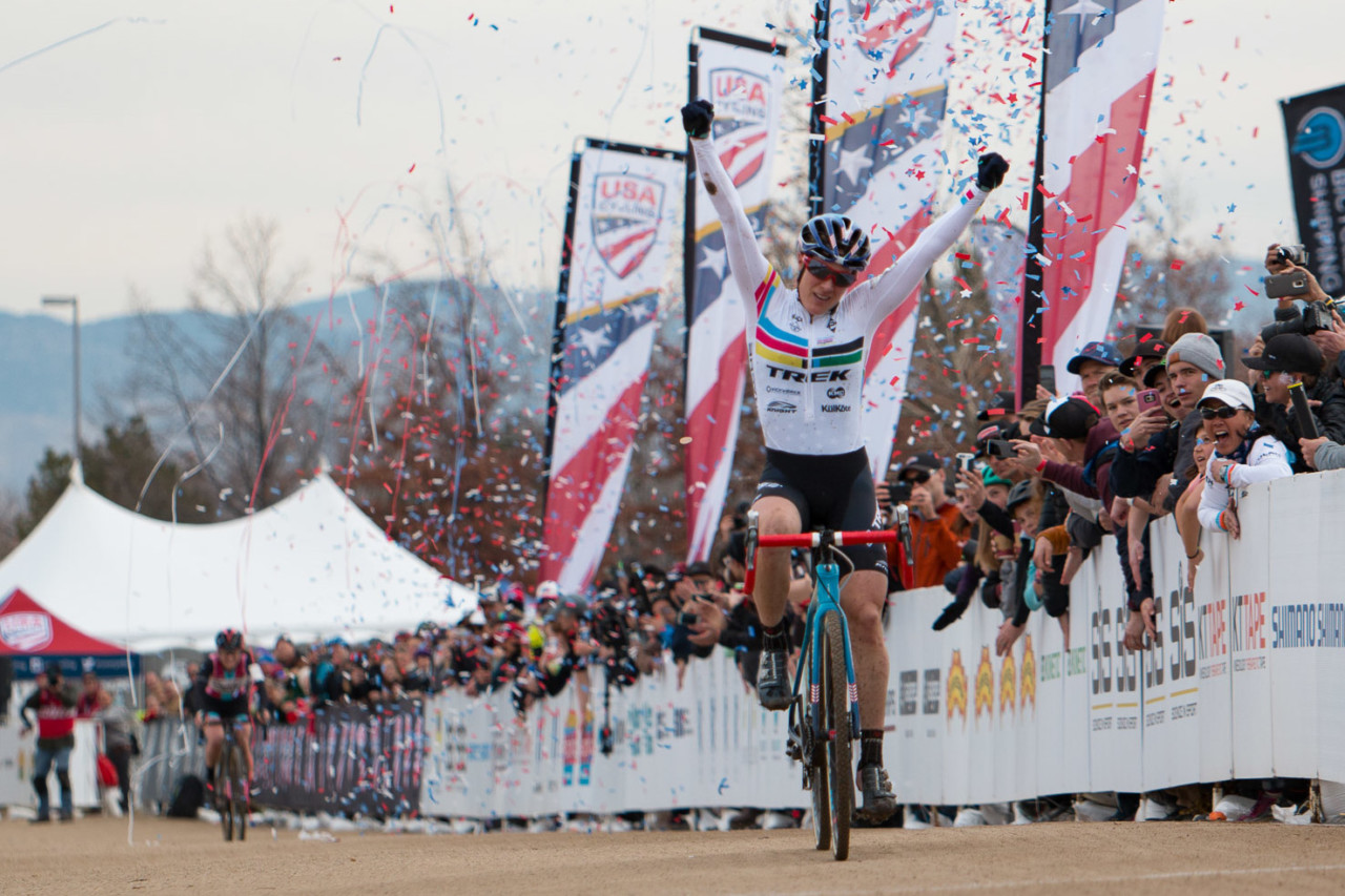 Compton heads to Louisville facing her toughest challenge yet. 2018 Cyclocross National Championships. © A. Yee / Cyclocross Magazine