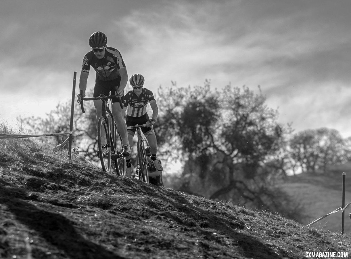 Ortenblad races locally in NorCal and will continue doing so in the future. 2018 NCNCA District Champs, Lion Oaks Ranch. © A. Yee / Cyclocross Magazine