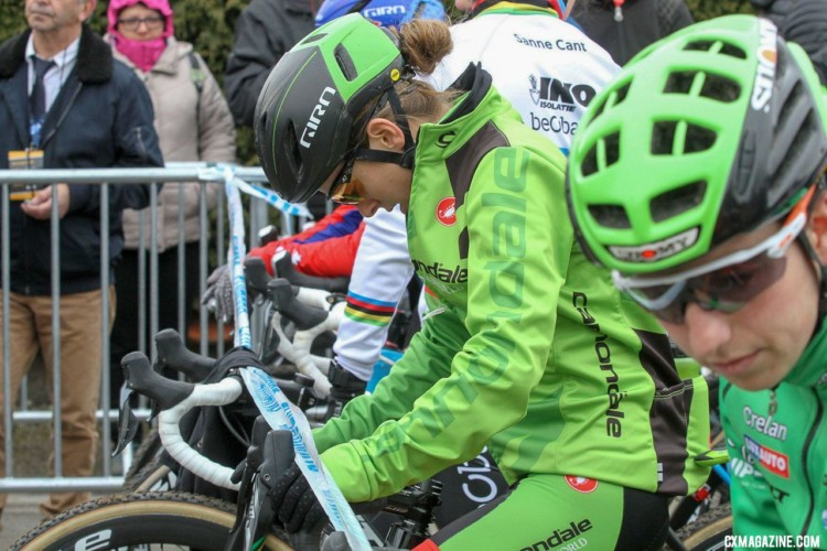 Keough looking to put her disappointing 2018 Nationals ride in Reno behind her at the Nommay UCI Cyclocross World Cup, cementing her top three overall standings. - Elite Women. © B. Hazen / Cyclocross Magazine