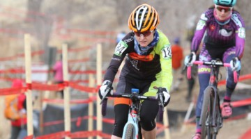 Stacey Richardson won the Masters 35-39 race on Friday. 2018 Cyclocross National Championships, Women Masters 35-39. © D. Mable / Cyclocross Magazine