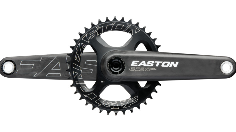 Easton's gram-shaving, power meter-ready modular EC90 SL Crankset.