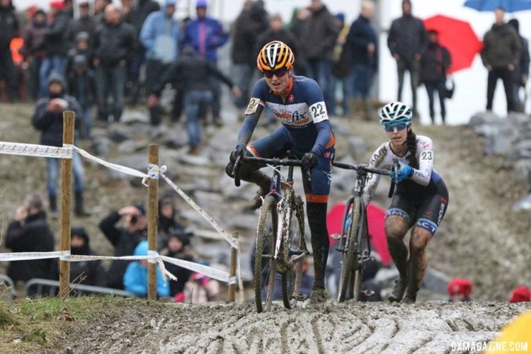 The race in Baal was a muddy one. © Luc Wilms
