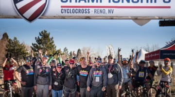 2018 Reno Cyclocross Nationals Operations Team: Darron Sturgeon, John Ward, Ron Patch, Bill Marshall, Coby Rowe, John Kennedy, Brian Armon. photo: courtesy