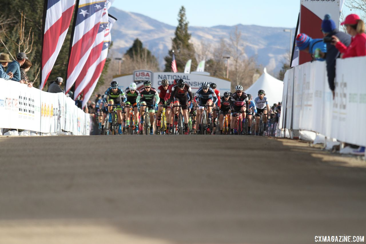 Jake Wells Stays Strong to Win Men's Singlespeed Race at